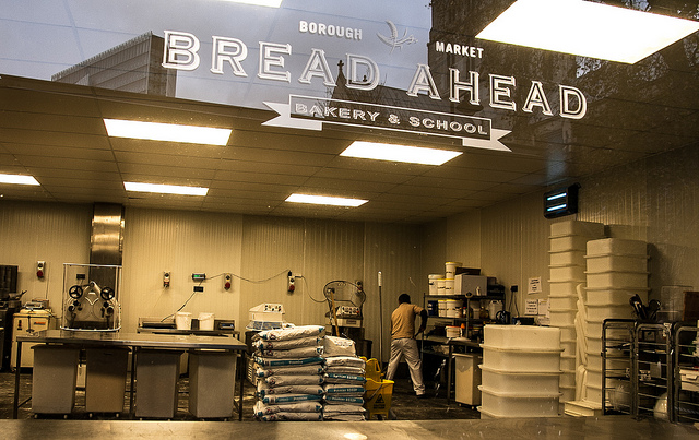 Bread Ahead bakery