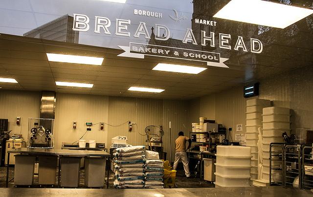 Bread Ahead bakery