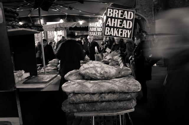Bread Ahead stall
