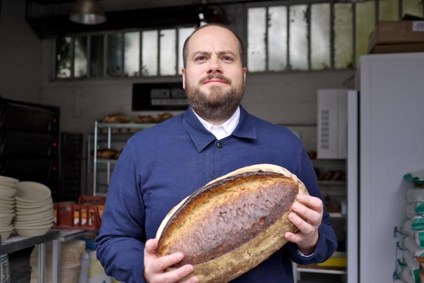 Head baker Fergus Jackson