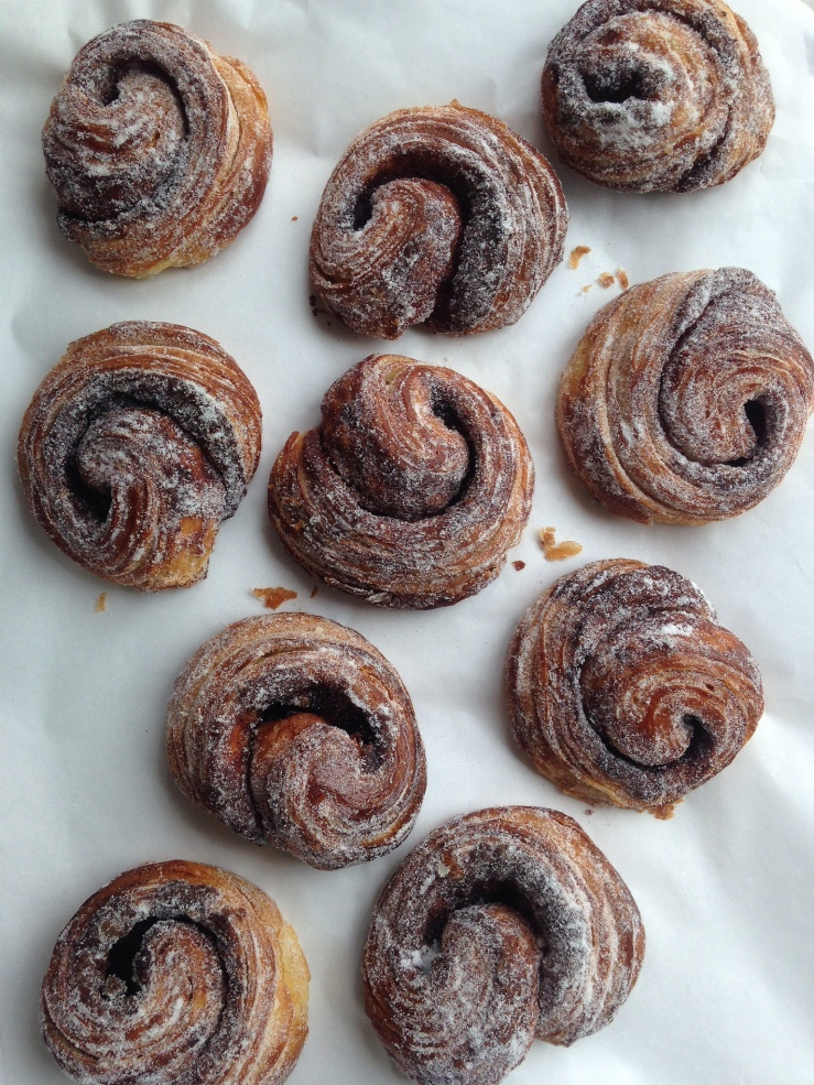 Cinnamon curls. Source: Dealing with Dough.