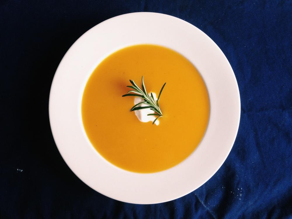 Spiced squash & apple soup. Source: DWD.