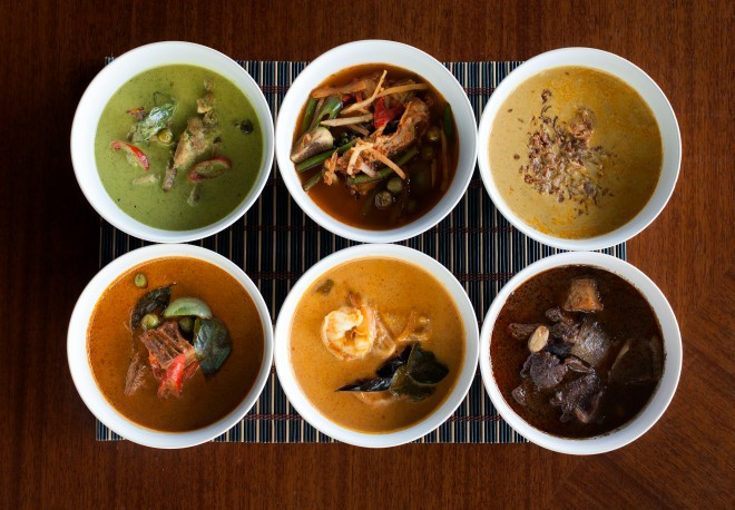 Dishes at Busaba. Source: Sauce Communications.