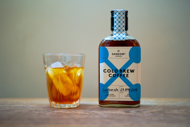 Cold brew coffee. Source: Sandows London.