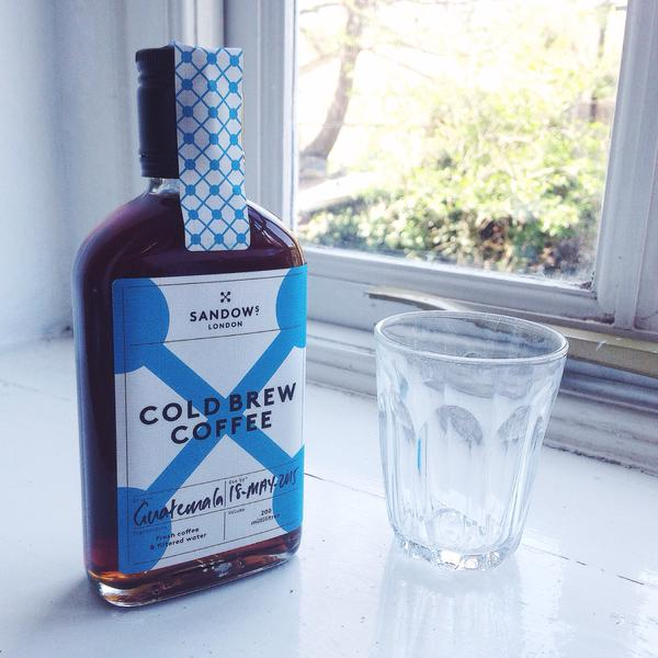 Sandows cold brew at Water Lane Coffee, Canterbury. Source: DWD.